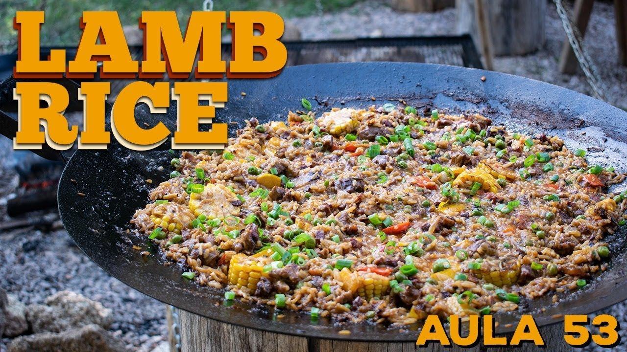 Lamb Rice (Como fazer Arroz de Cordeiro) / Cansei de Ser Chef feat Guto Quirós