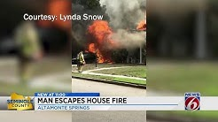 Altamonte Springs House Fire