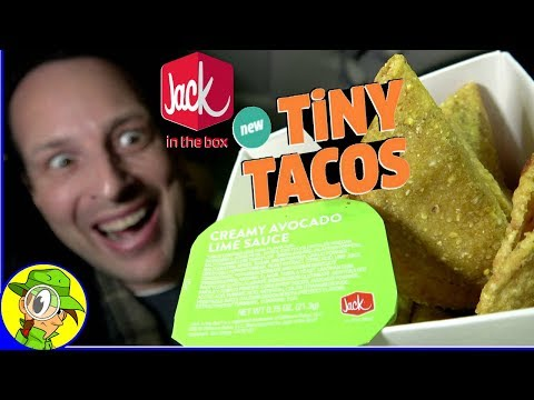 Jack In The Box® | TINY TACOS Review 🔎🌮 | Peep THIS Out! 🤡