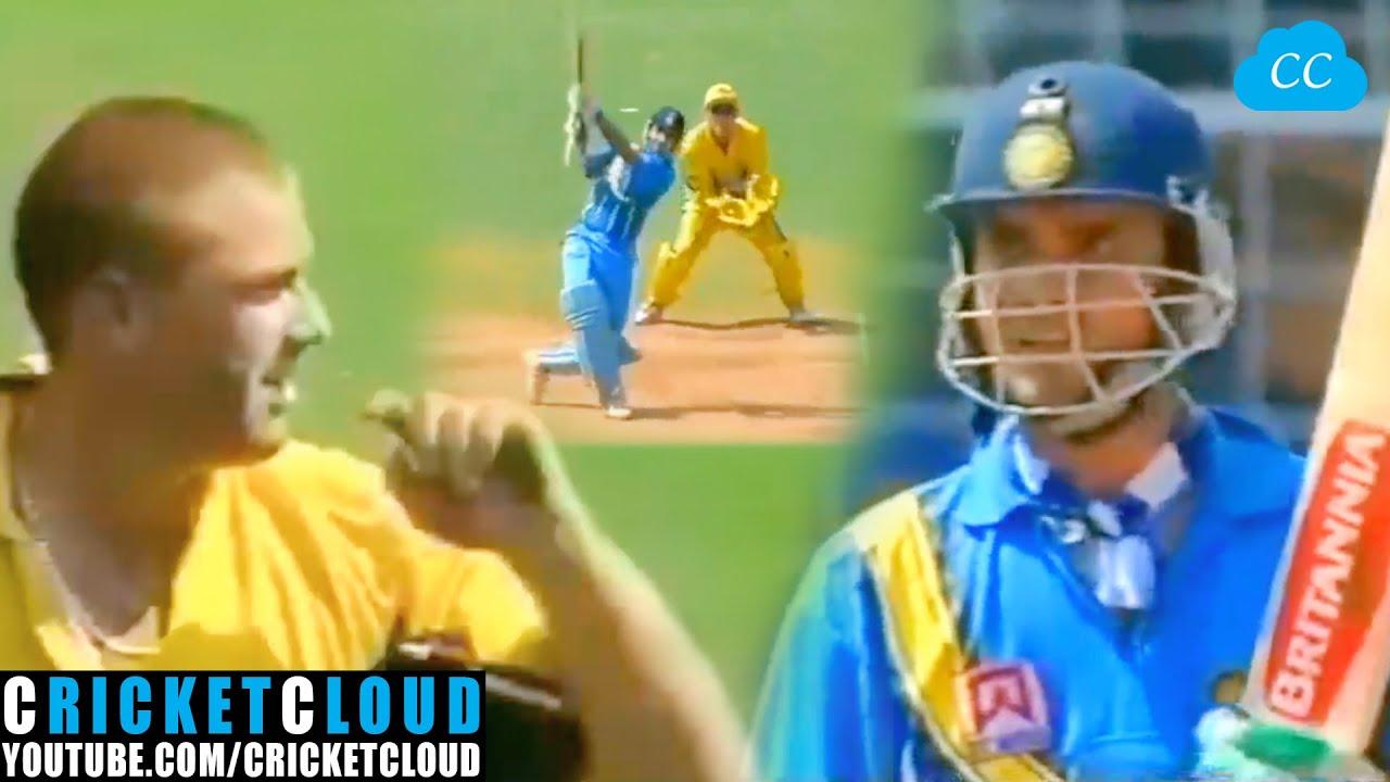 Sourav Ganguly vs Shane Warne | Dada in Smashing Mood | INDvAUS 2001 !!