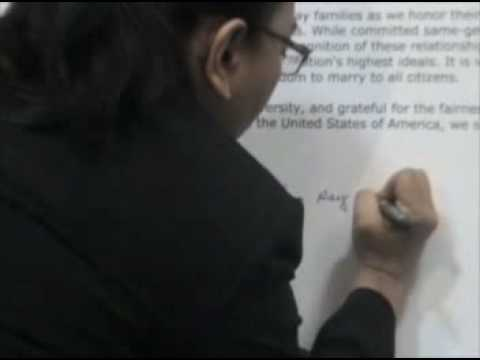 Asian American clergy & religious leaders signing compassion Statement