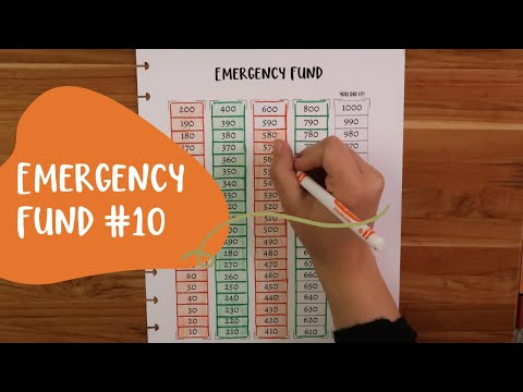 Emergency Fund| Extra Income| Cash Envelope Stuffing | Update #10| Low Income 2020