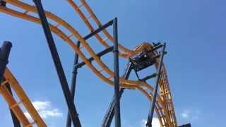 BATMAN: The Ride Testing Footage