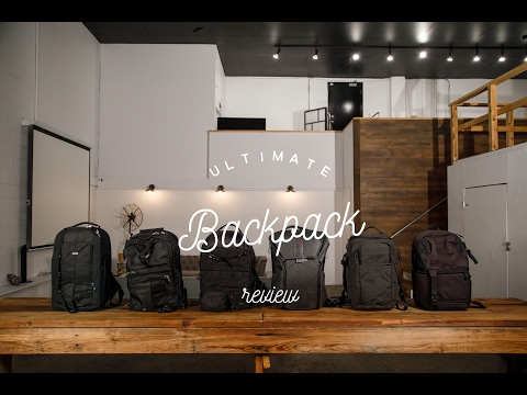 Ultimate Camera Backpack Review [Peak Design vs LowePro vs ThinkTank vs Incase]