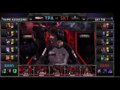 Taipei Assasins vs SK Telecom T1 K   All-Star 2014 Challenge Group Stage Day 1   TPA vs SKT