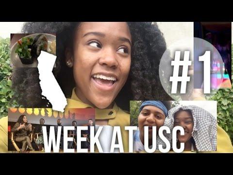 Week at USC College VLOG #1 Lupita Nyongo, NBCUniversal, Little Tokyo