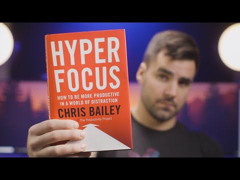 """How to Focus on Your Work - 3 Lessons from """"Hyperfocus"""""""