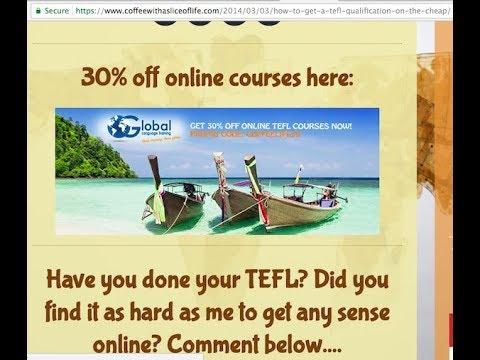 Why Choose TEFL Org UK?