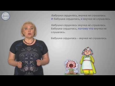 Русский язык 9 класс. Бессоюзные сложные предложения.