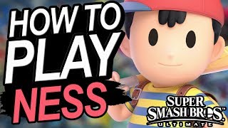 How To Play NESS - A Starter's Guide | Super Smash Bros. Ultimate