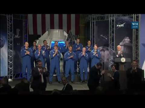 Vice President Pence Delivers Remarks at the 2017 Astronaut Selection Announcement