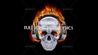 DiDi Dance Challange full song || Mega Francesita Lyric Video