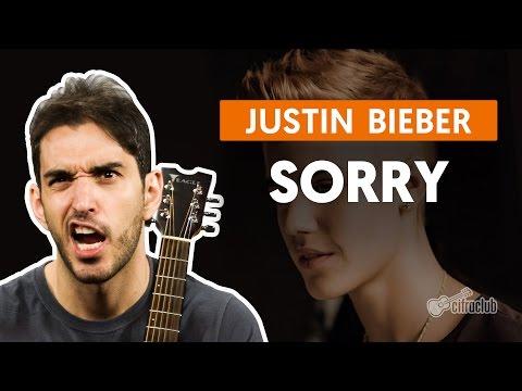 Sorry - Justin Bieber (aula De Violão Simplificada)
