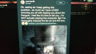 Josh Gad is NOT Playing the Penguin in The Batman
