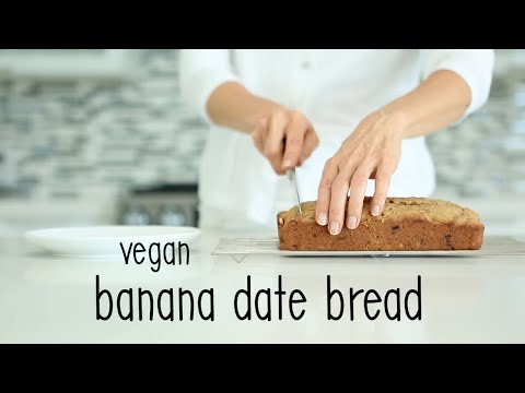 Banana Walnut Date Bread