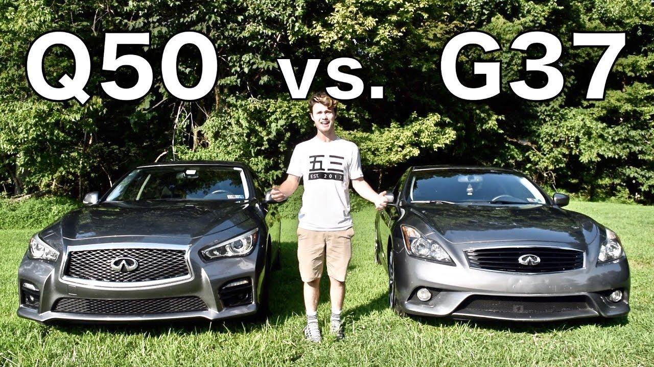 Infiniti G37 Vs Q50 Differences And Comparison Youtube