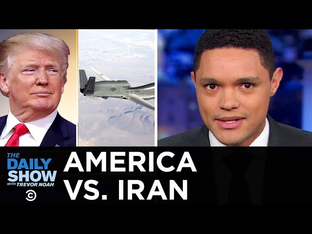 Trump Brings U.S. to Brink of War with Iran | The Daily Show