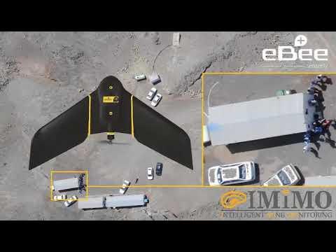 Drone Survey of an Open Pit Copper Mine