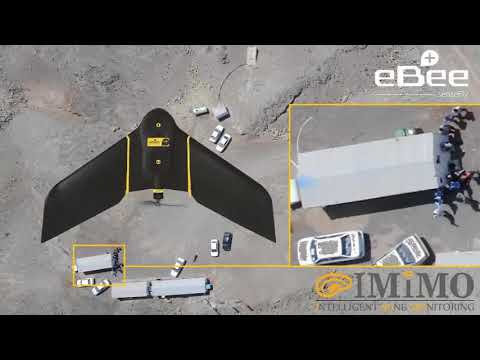 Drone Survey Of An Open Pit Copper Mine
