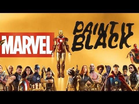 Paint it Black│MCU Tribute
