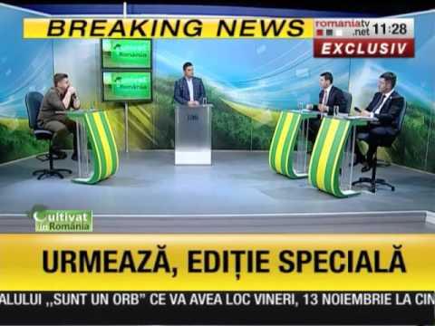 Despre viitorul irigatiilor cu ministrul Daniel Constantin si deputatul Liviu Harbuz