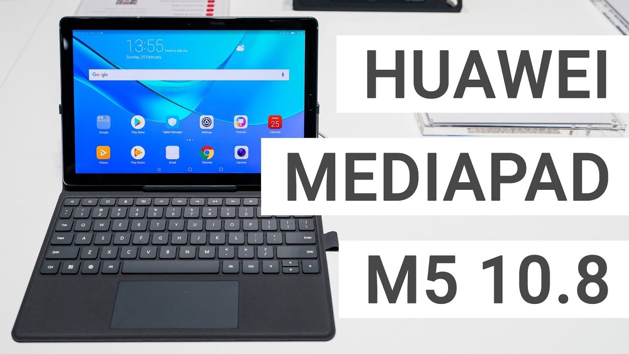 Huawei Mediapad M5 10 Hands On The Fastest Android Tablet Youtube