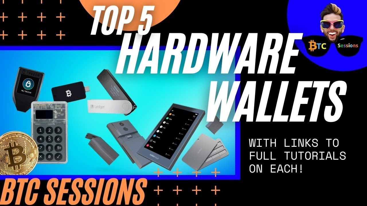 TOP 5 Bitcoin Hardware Wallets For 2020