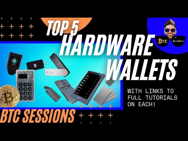 TOP 5 Bitcoin Hardware Wallets For 2021