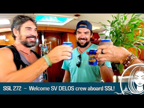 SSL 272 ~ Welcome SV DELOS crew aboard SOPHISTICATED LADY!