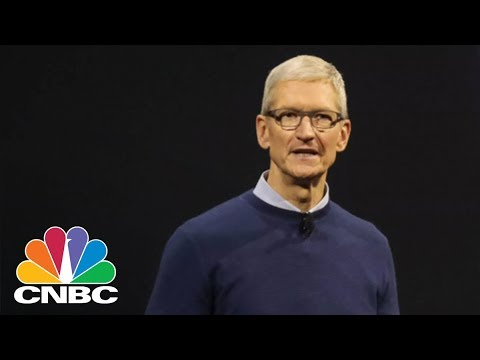 Apple CEO Tim Cook Says Q2 Was The Company's Best Quarter Ever For Services | CNBC