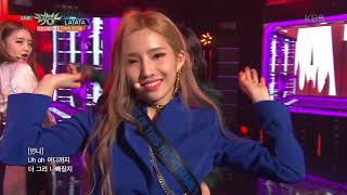 Download Video 뮤직뱅크 Music Bank - LATATA - (여자)아이들 (LATATA - (G)I-DLE).20180511 MP3 3GP MP4