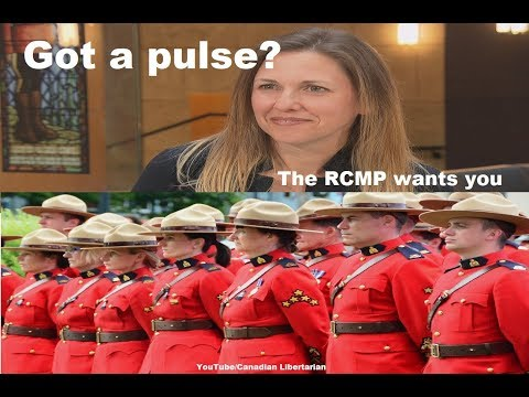 Got a pulse? The RCMP wants you
