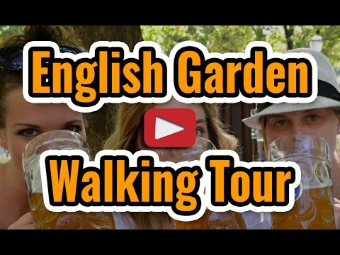 English Garden Walking Tour - Munich