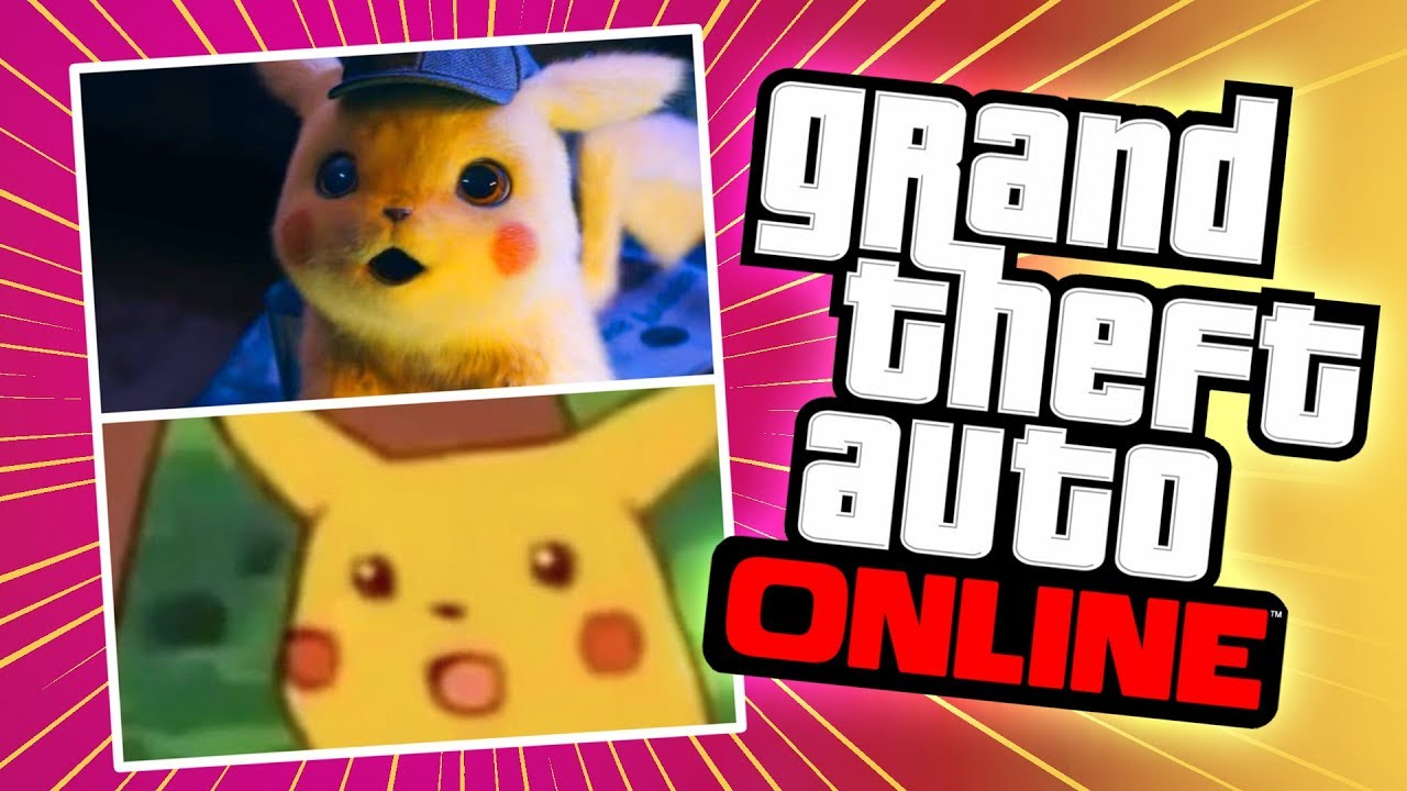What's wrong with Detective Pikachu? | GTA 5 Online Playlist