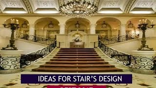Stairs design ideas for luxury homes Latest 2017