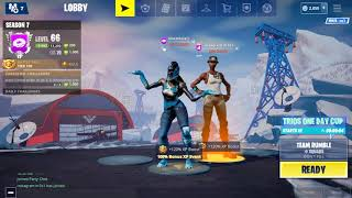 PLAYING WITH RECON EXPERT(rarest skin in fortnite)