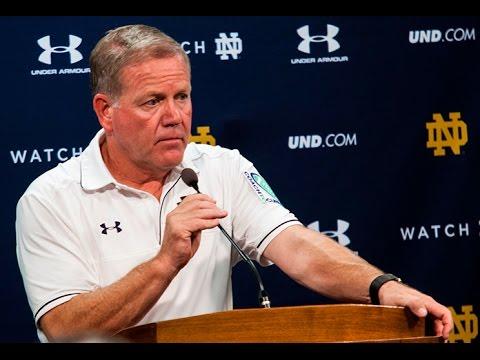 Notre Dame Football Duke Press Conference