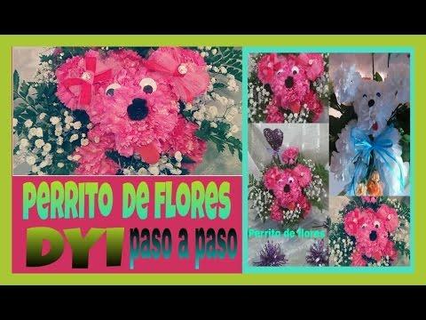 Perrito De Flores Arreglo Flloral Puppy Flower Arrangement