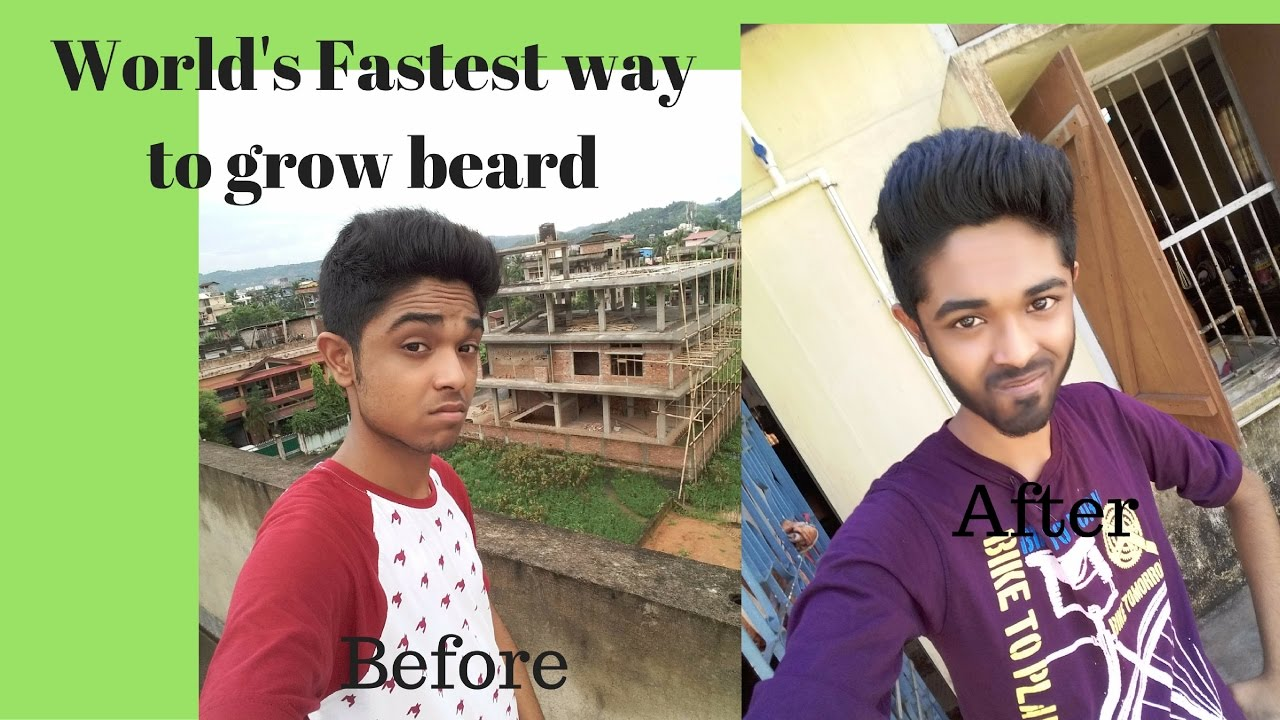 how to make beard grow faster at home