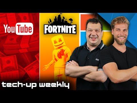 Mit Gaming reich werden   Mehr Geld für YouTuber?! - Tech-Up Weekly #162