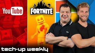 Mit Gaming reich werden | Mehr Geld für YouTuber?! - Tech-Up Weekly #162