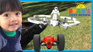 Parrot Mini Drone Airborne Mars and Max Jumping Race thumbnail