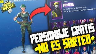 TIP TO GET A FREE CHARACTER!!! *NOT SWEEPSTAKE* (PS4, XBOX, MOVIL AND PC) FORTNITE