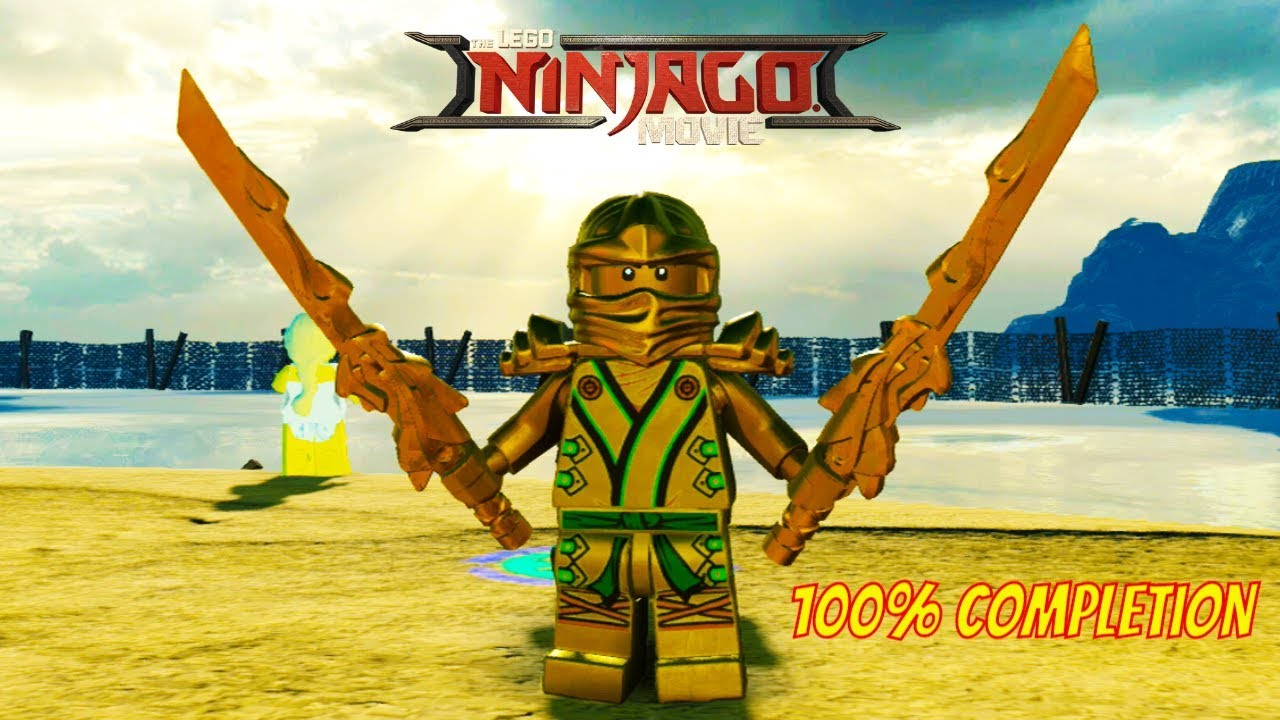 The Lego Ninjago Movie Video Game Gold Ninja Unlock Location Free Roam Gameplay 100 Completion Youtube