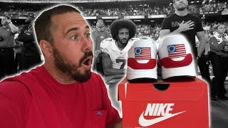 (BANNED VIDEO) REMAKING THE BETSY ROSS NIKE SHOES