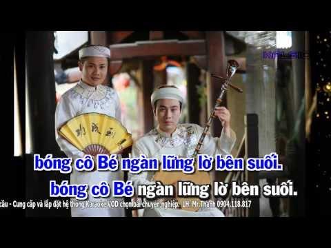 [Karaoke HD] CÔ BÉ THƯỢNG NGÀN - Ngọc Ký & Minh Đức (Hát Văn)