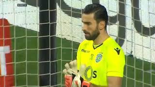 Sporting vs Porto 0-0 (4-3) - Todos os Penâltis | Taça CTT - 24/01/2018 HD