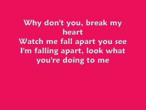 HilaryDuff- Break My Heart w/Lyrics [FULL HQ] mp3