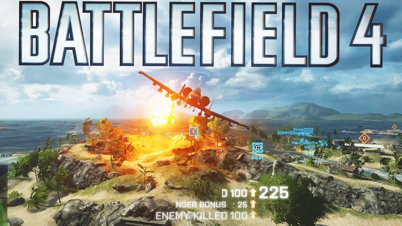 POV: You've played 3000 Hours of Battlefield 4 and it shows