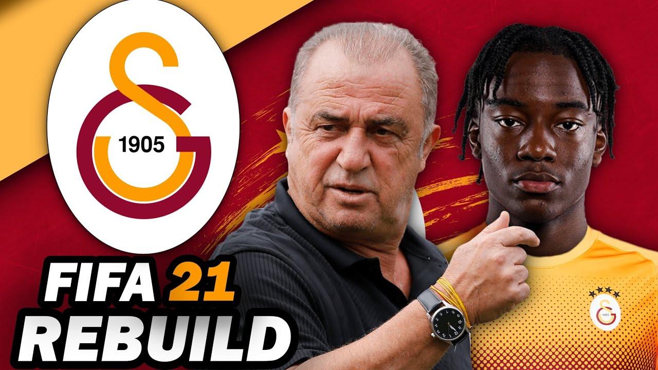 YENİ TRANSFERLERLE MADUEKE'Lİ GALATASARAY 10 YIL REBUILD!! // FIFA 21 KARİYER MODU